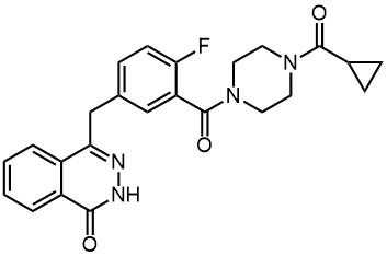 4-(3-(4-(Cyclopropanecarbonyl)piperazine-1-carbonyl)-4-fluorobenzyl)phthalazin-1(2H)-one