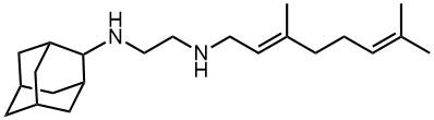 1,2-Ethanediamine,N-[(2E)-3,7-dimethyl-2,6-octadienyl]-N'-tricyclo[3.3.1.13,7]dec-2-yl-